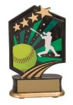Softball Resin Trophy All Trophy Awards