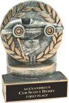 Wreath Resin Trophy -Racing  Racing Trophy Awards