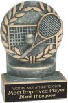 Tennis - Wreath Resin Trophy Wreath Awards